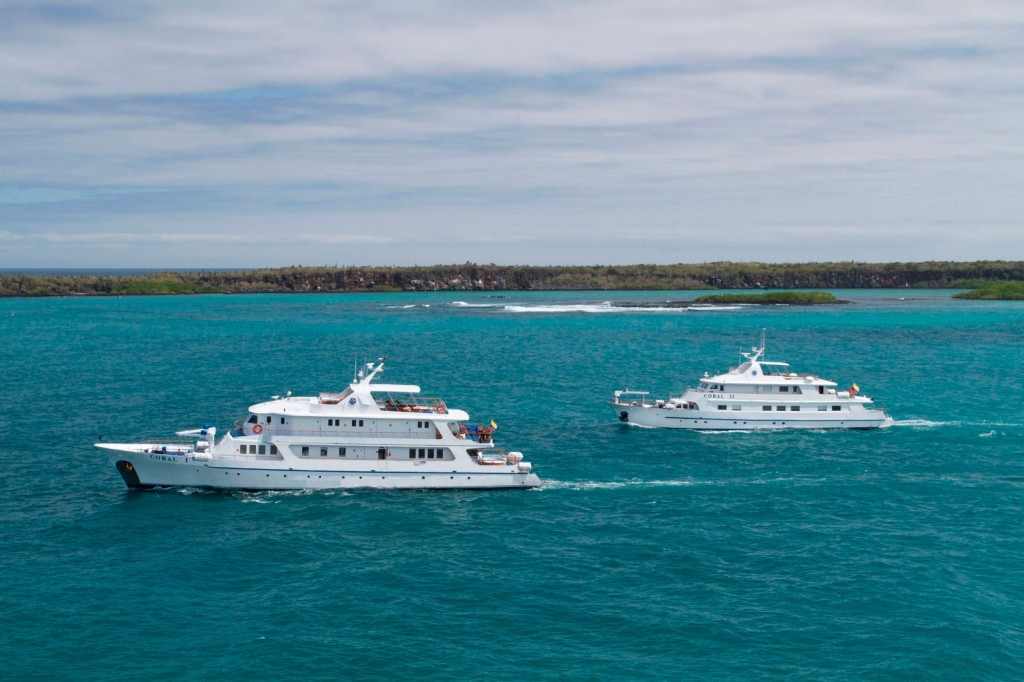 M/Y Coral I & Coral II Galapagos with South Land Touring Ecuador