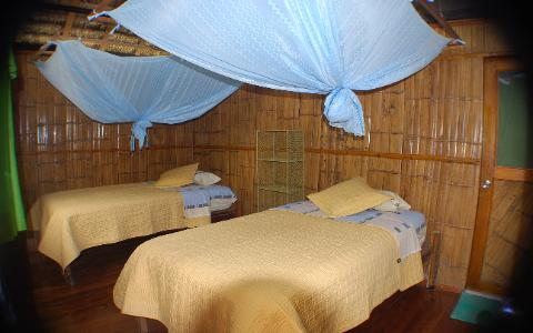 yacuma jungle lodge south land touring ecuador room