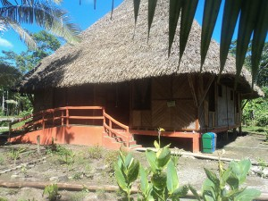 yasuni kichwa lodge south land touring ecuador  cabin